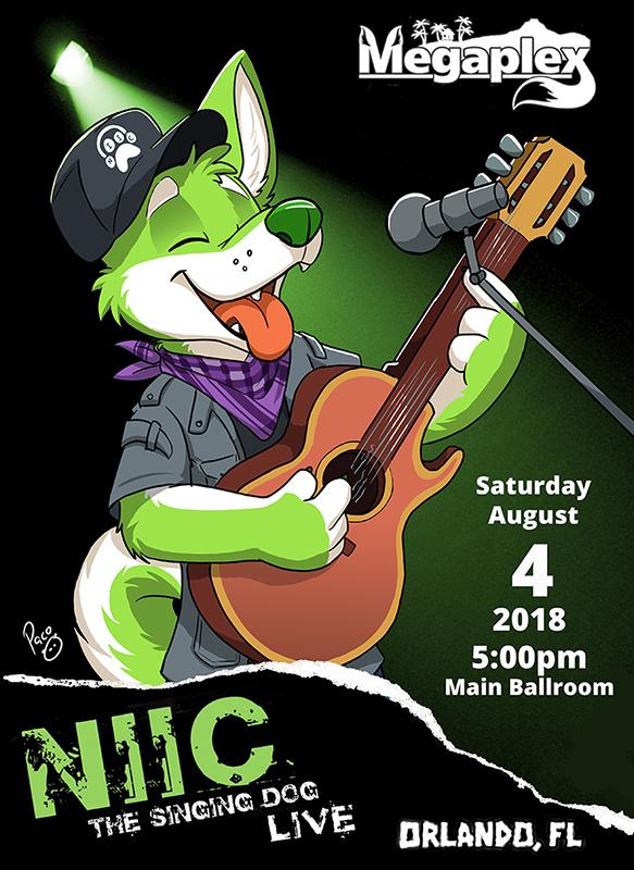 NIIC The Singing Dog Live!