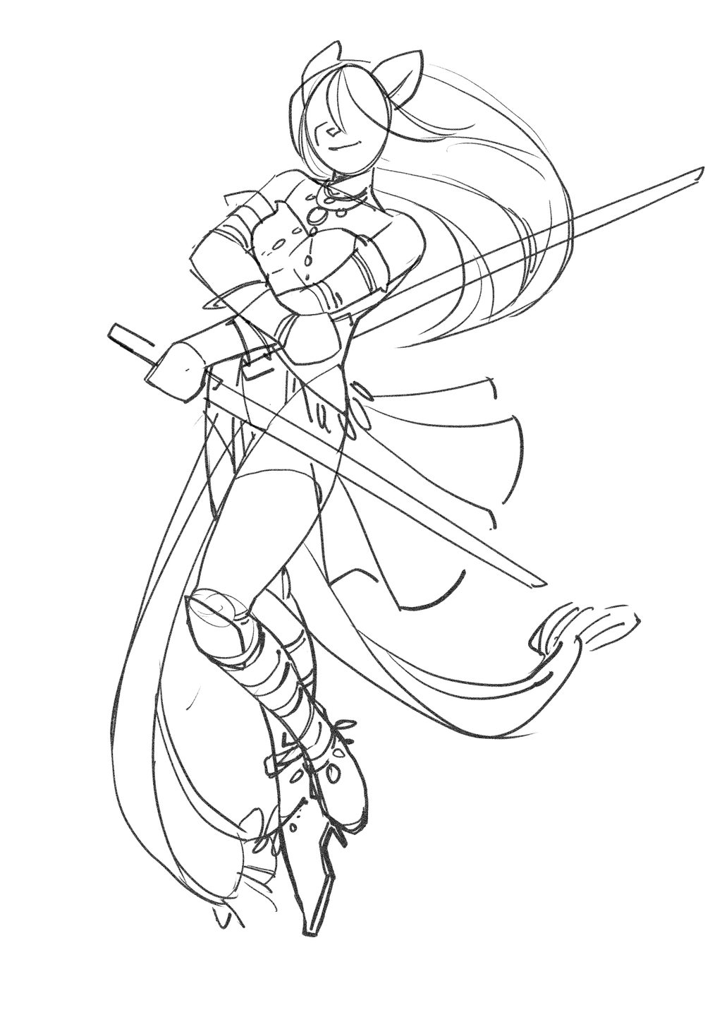 commission wip rough