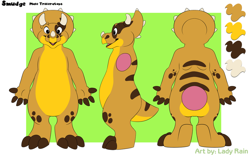 Smudge Ref Sheet by Wintersnowolf