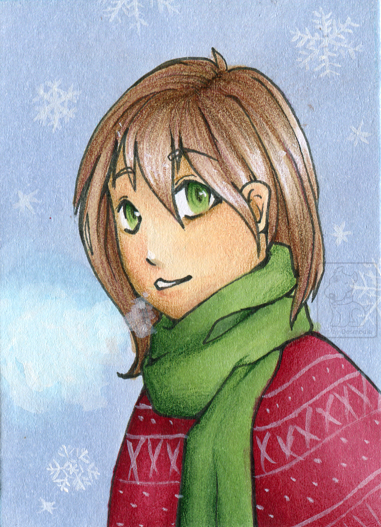 Featured image: ACEO #32 ''Australian Winter'' [gift]