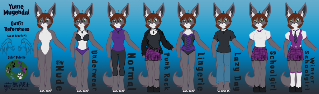 Most recent image: Yume's Outfits WIP