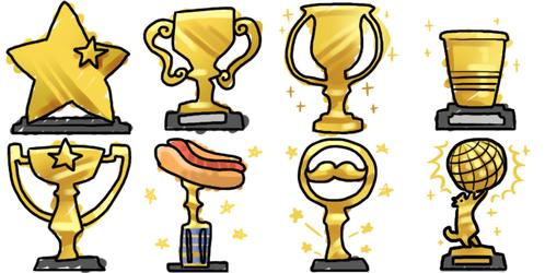 Aywas: April Trophies