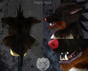 Hazzardwolf head details