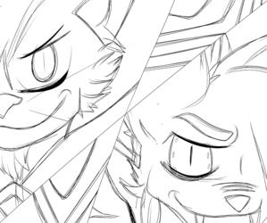 Kill la Kill Ryukko Catoi And Kiryuin Vladsuki