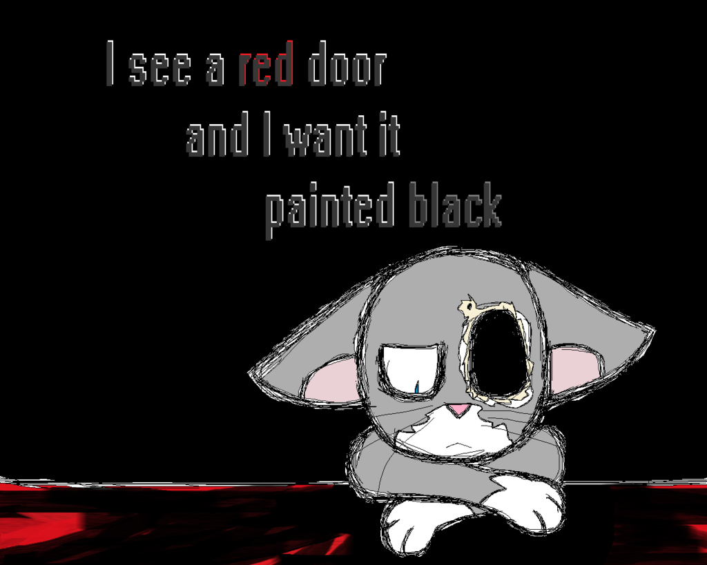 Featured image: Paint It Black 1