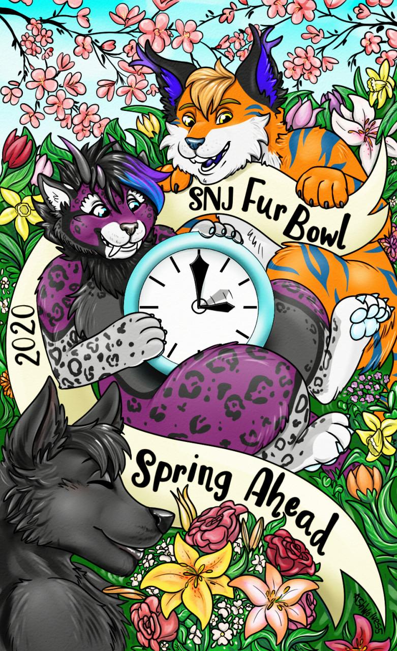 SNJ Fur Bowl Badge Art
