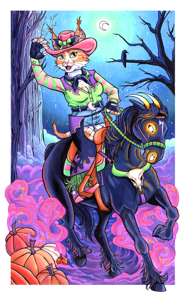 Spooky Cowgirl