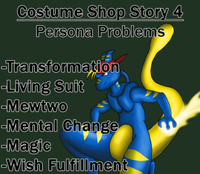 Costume Shop Story 4: Persona Problems