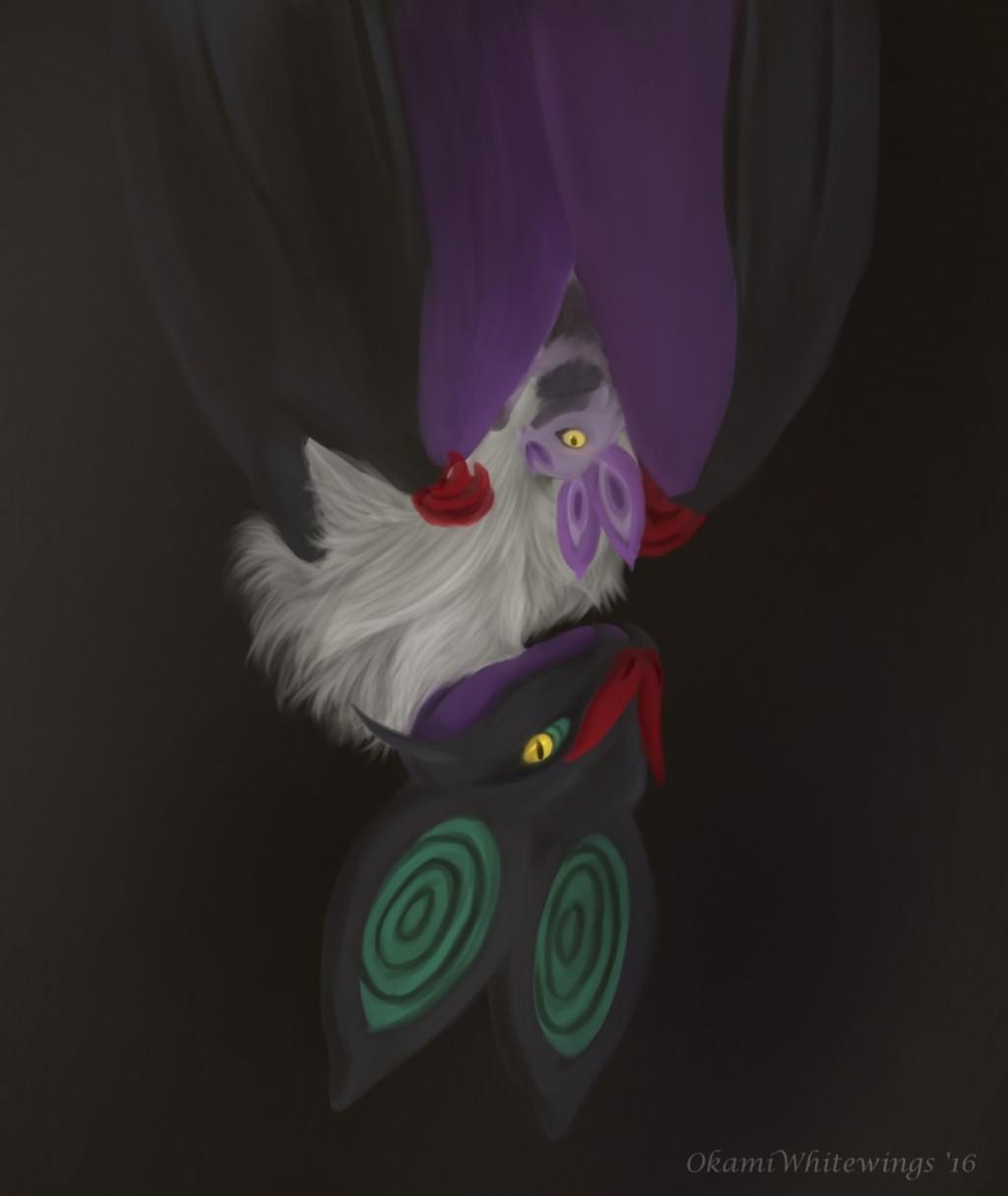 Pokemon Drawlloween - 14 Bat