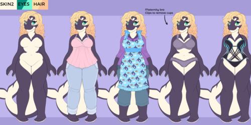 Mama Orca - Character Design