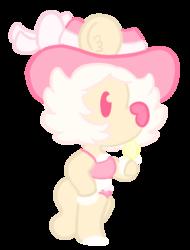 A Cream Lion!