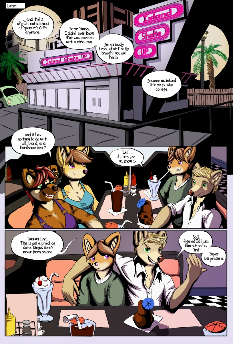 False Start Comic Issue #1 Page 11