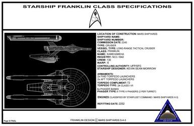 Franklin Class - Design Specs 06 Final