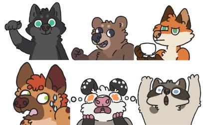Animated Telegram Stickers (GIF)