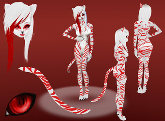 Candy Cane Tiger