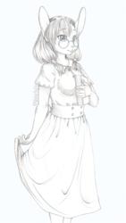 Cabbage Bun Sketch