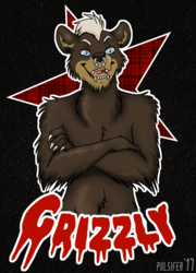FC Badge Commission - Grizzly