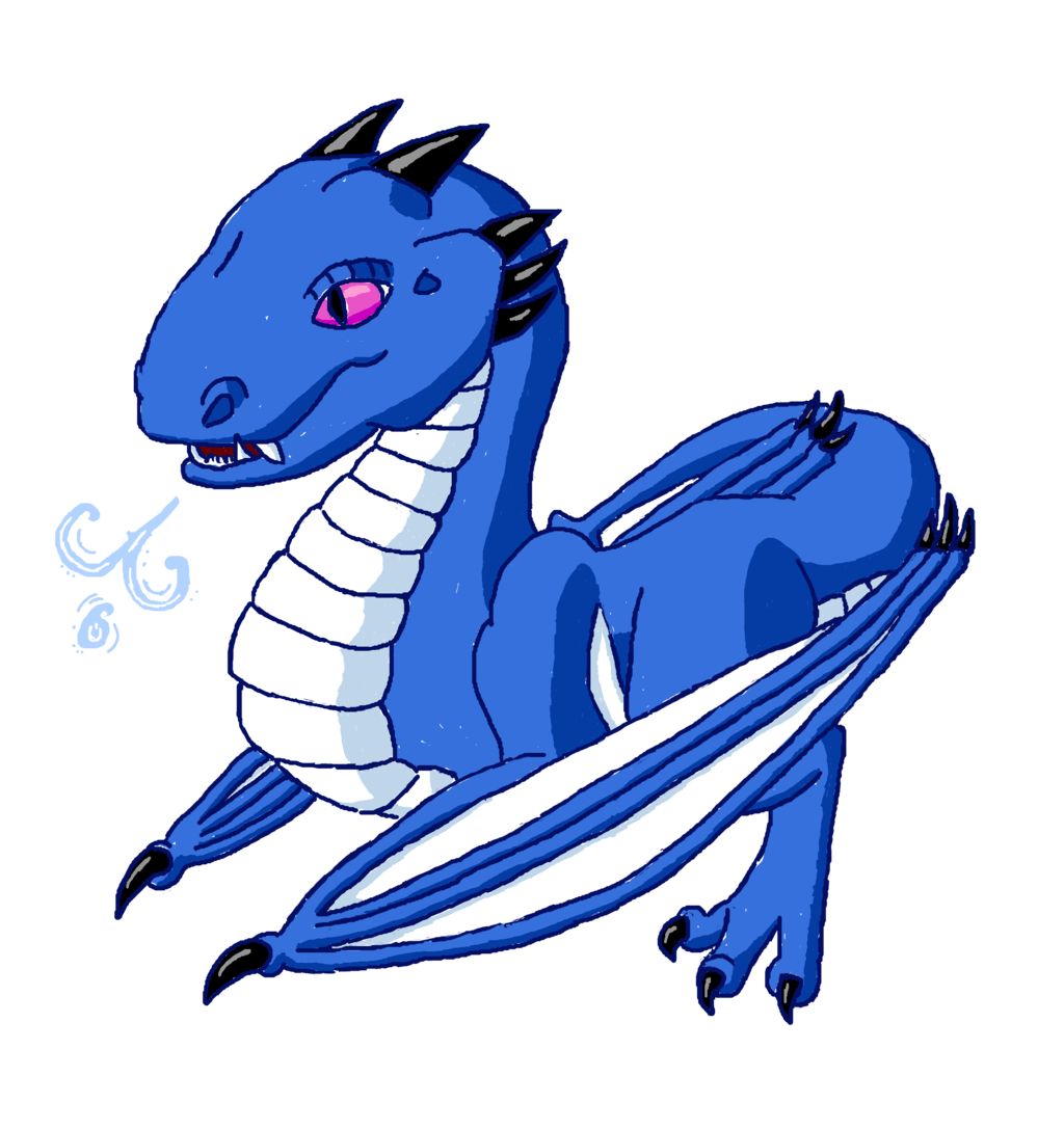 Baby Wyvern - Ice