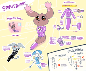 Outfit ref - Straitjacket