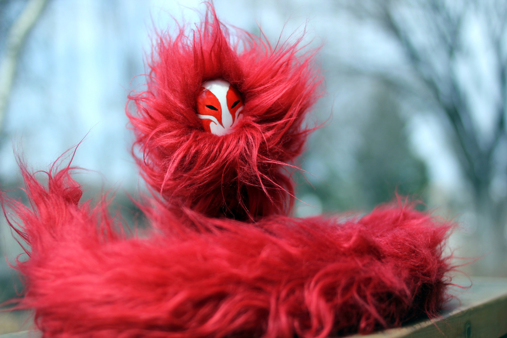 Most recent image: OOAK Poseable Art Doll - Flame Spirit