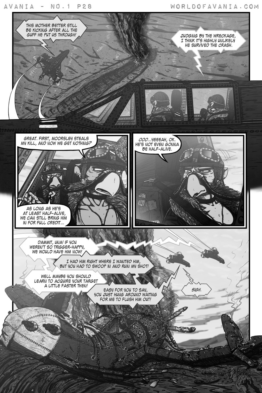 Avania Comic - Issue No.1, Page 28