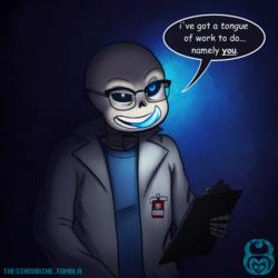 Undertale: Sans in Glasses