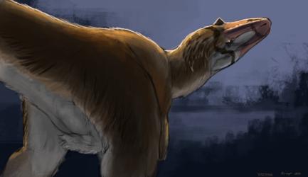 Dinovember 22 - Yutyrannus