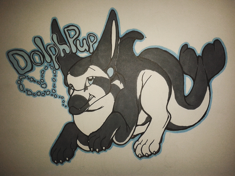 Deluxe Badge - Dolphpup
