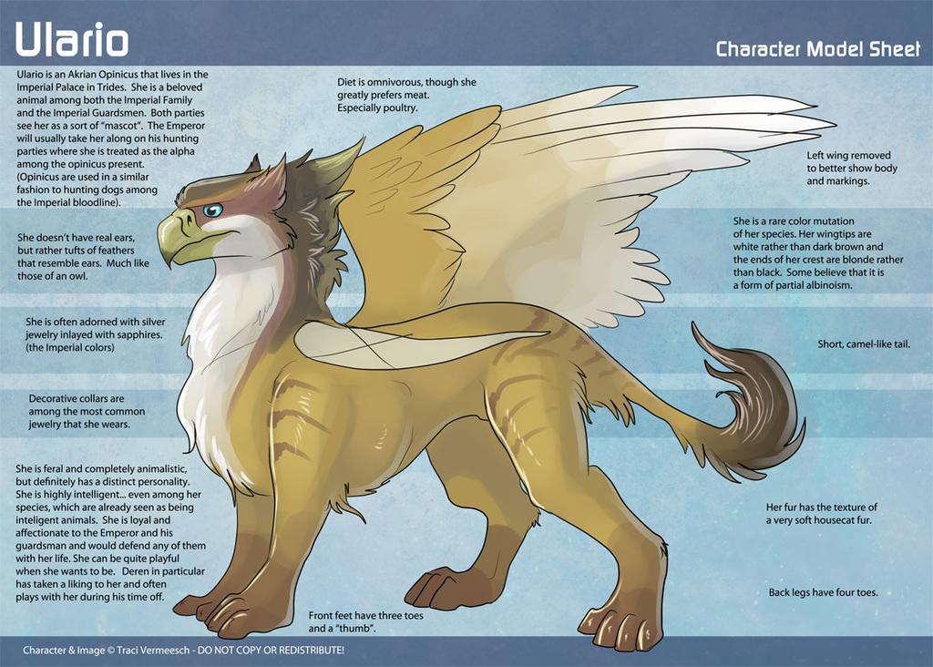 Ulario - Character Reimagining