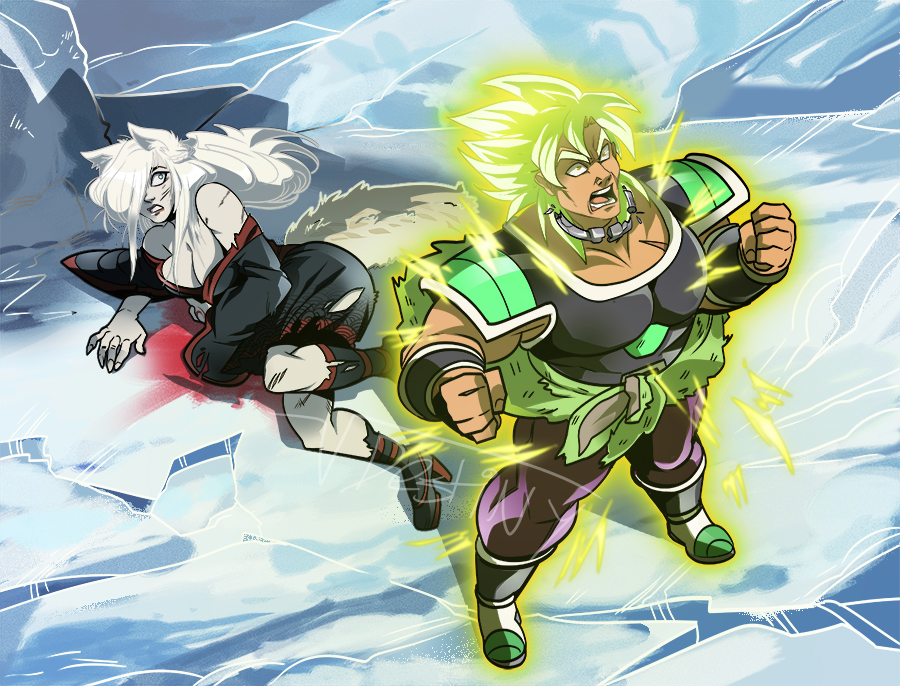 Broly Protec (COMMISSION)