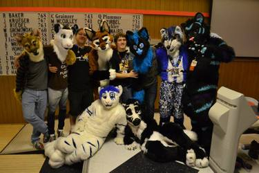 First Madison Furry Bowling (Dec 2013)