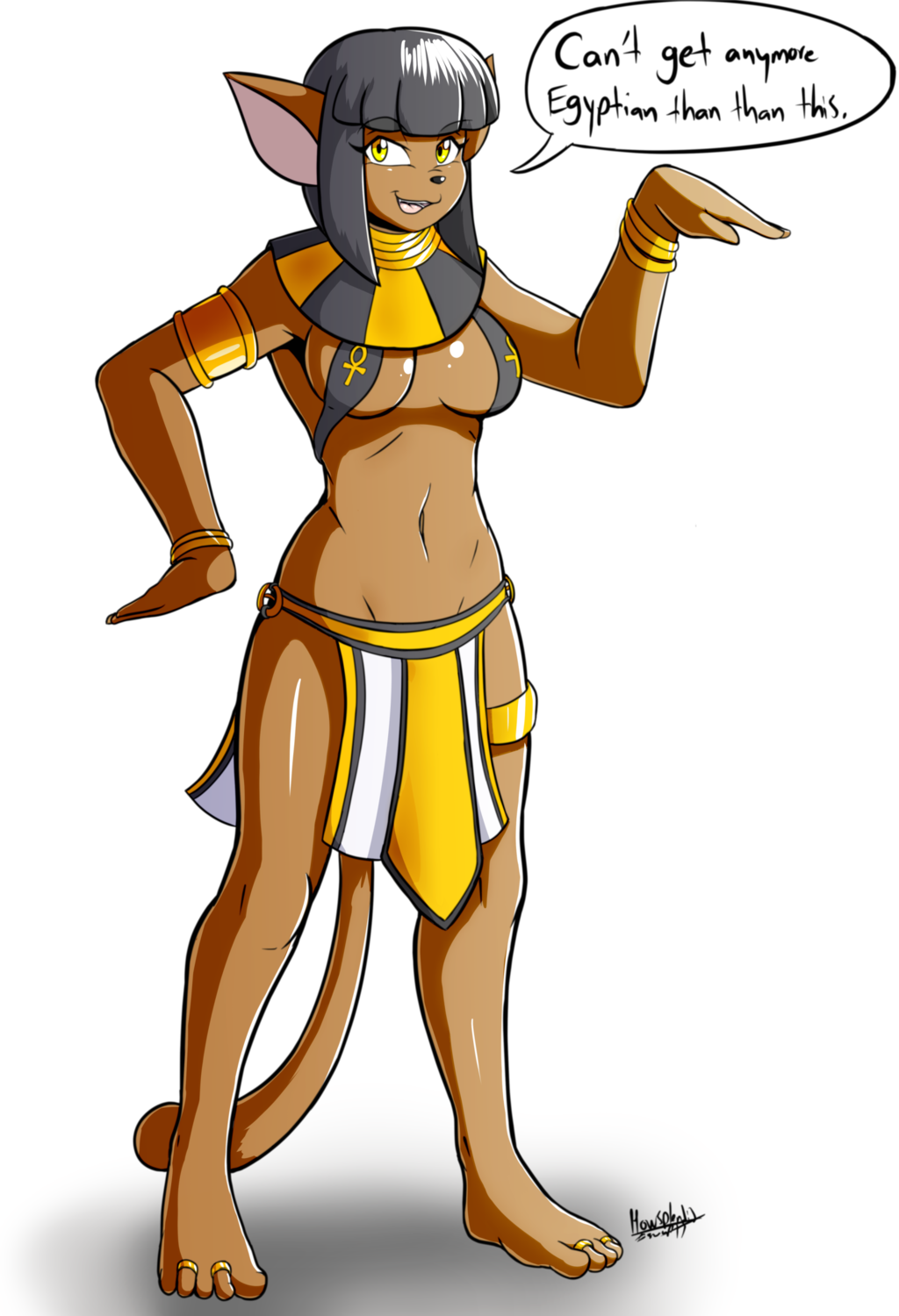 Bastet's New Look
