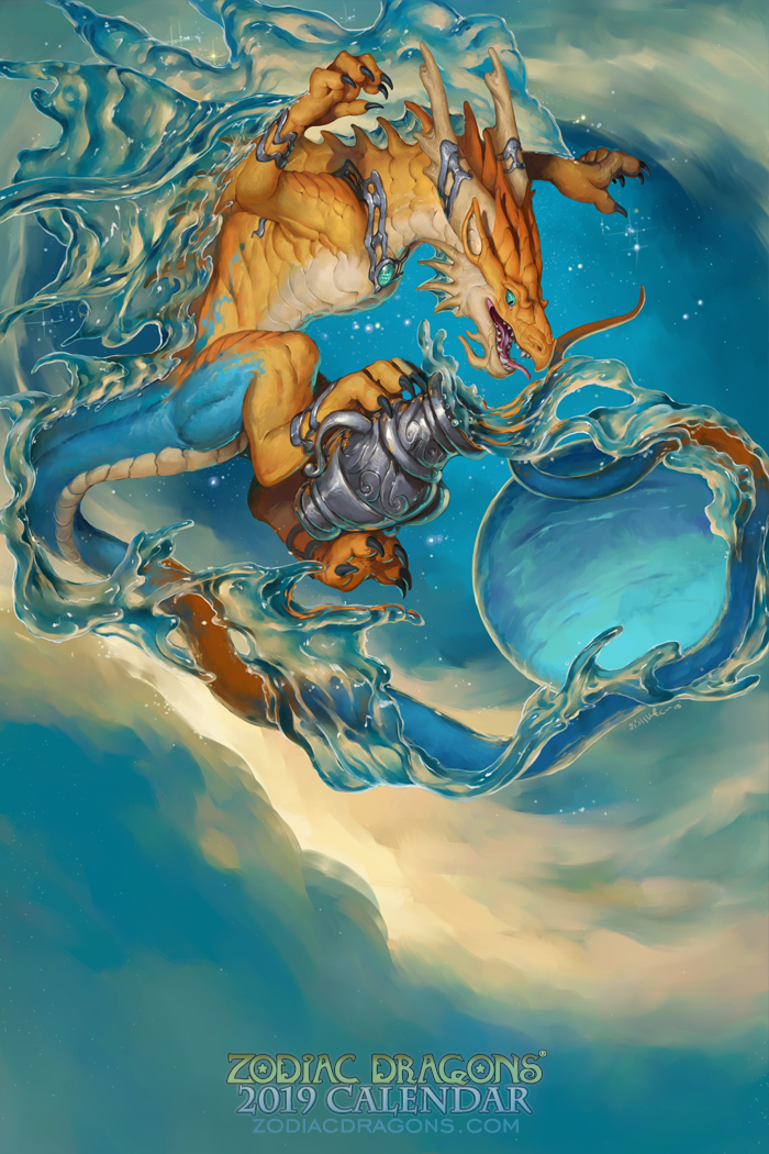 2019 Zodiac Dragon Aquarius