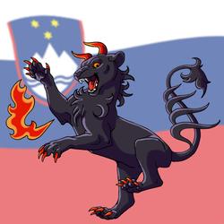 Slovenia furs emblem