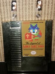 The Legend of Mike McCloud [cartridge badge]