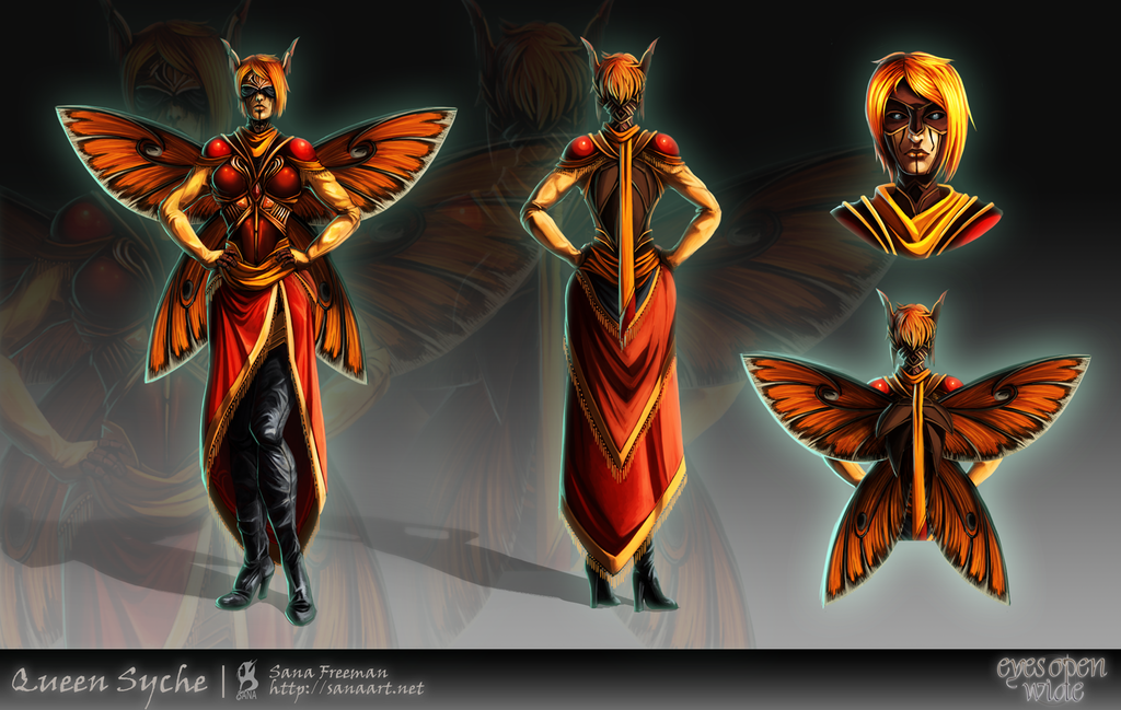 Most recent image: Eyes Open Wide: Queen Syche Concept