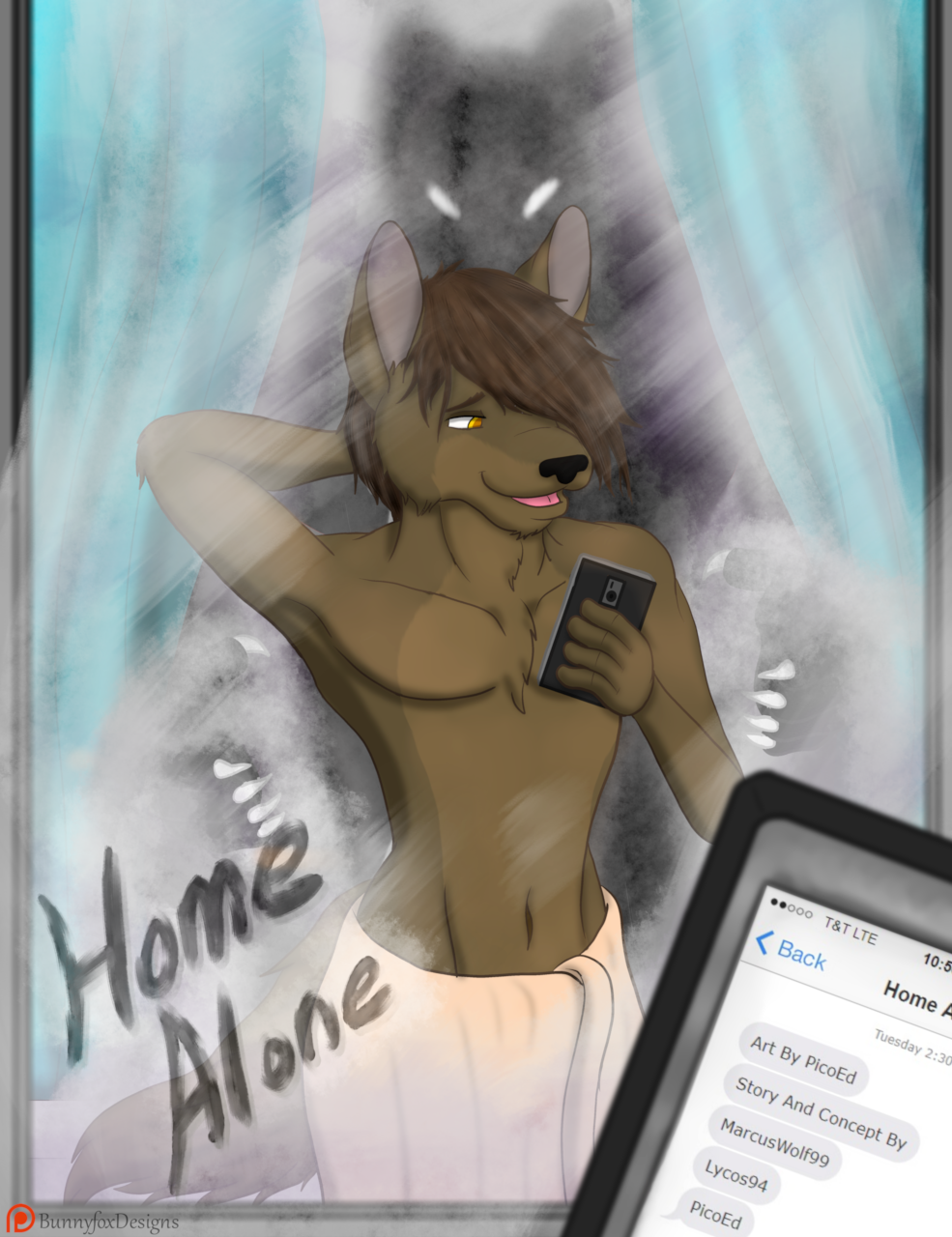 """""""Home Alone"""" - Cover"""
