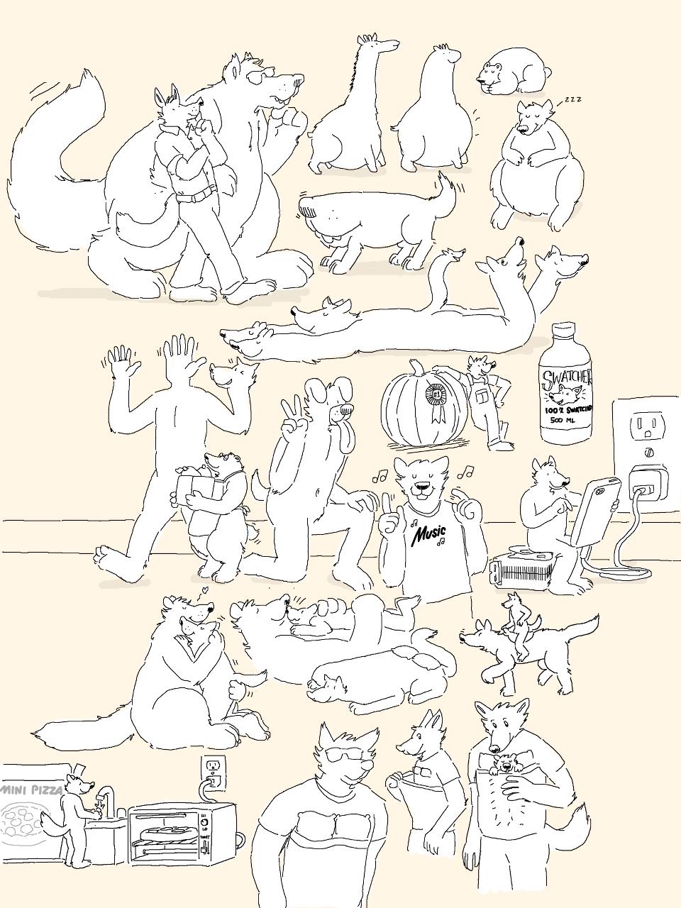 Micro doodles