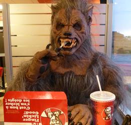 Langren at KFC