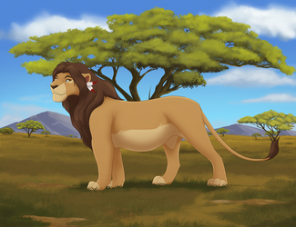 Out on the Plains by Malaika4