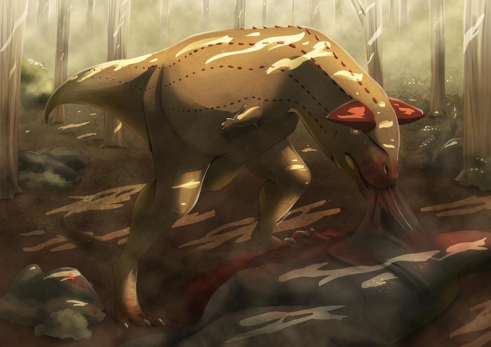 Hungry Carnotaurus