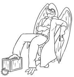 (Commission) Jelethorim's Vulture Doc