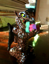 Mini Baby Sirrush and Dragon (On Etsy!)