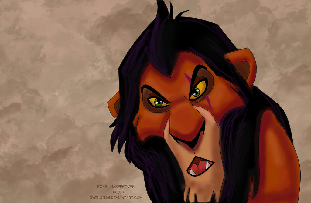 Scar Disapproves