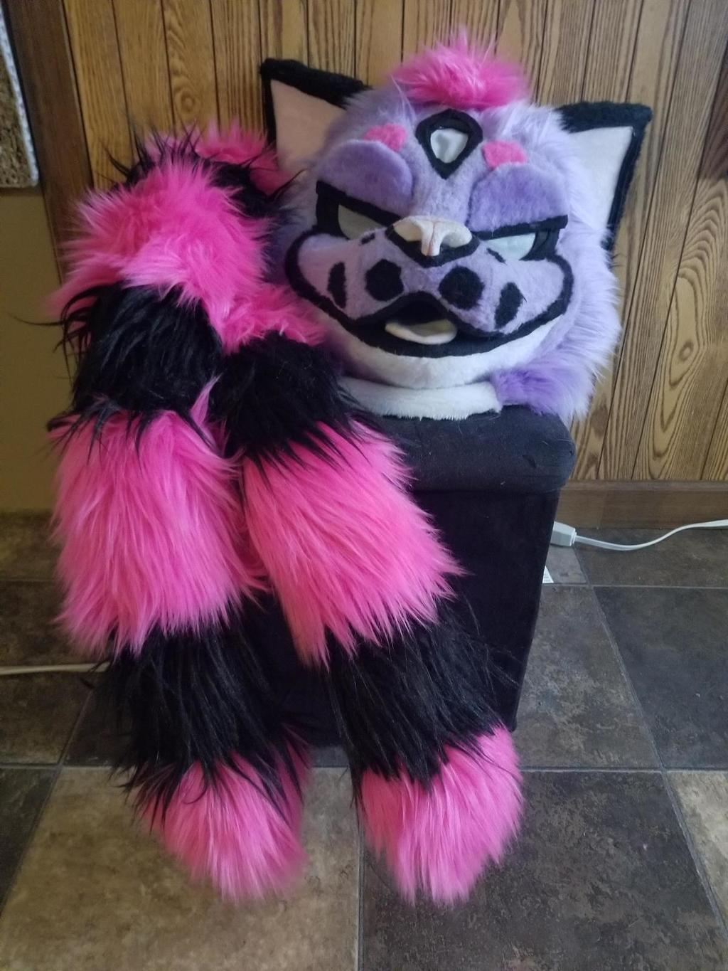 Most recent image: Tournament!Espy Fursuit