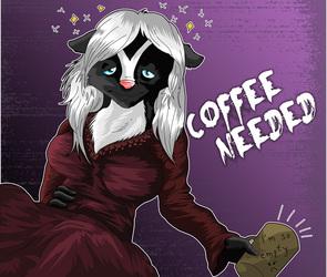 TWILLIGHT MOOD BADGE 1 COFFEE NEEDED
