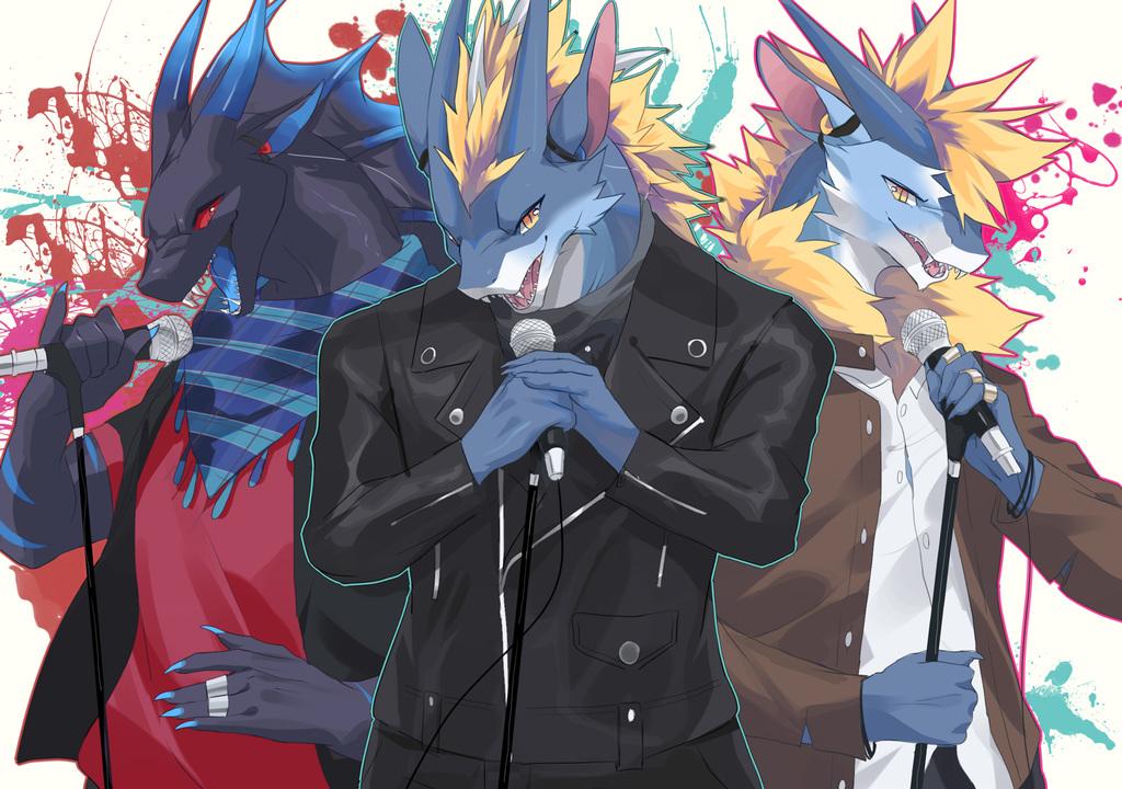 [Kazie-Ru] Dragon Boyband