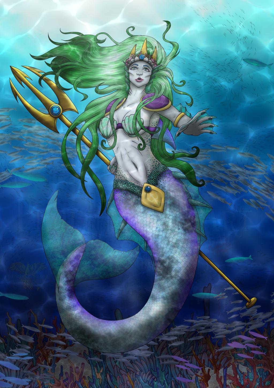 Amphertite - Goddess of the Ocean