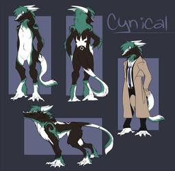 Cynical Sergal - Ref Sheet