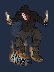 Commission - Arson Badge